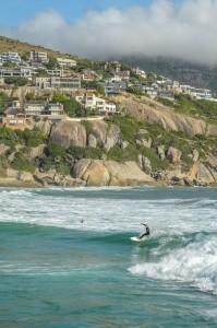Surfing at Llandudno
